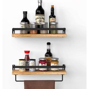 New Rustic Floating Shelves